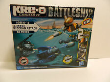 Kre-o Battleship Create it  Ages6-12  38952 Ocean Attack  66 pieces  New in Box