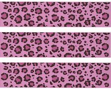 Pink Leopard Hottie Spots Edible Image Design Strips Frosting Sheet