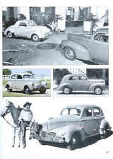 1940 Willys Article - Must See !! Coupe + Californian + DeLuxe Sedan + Woody