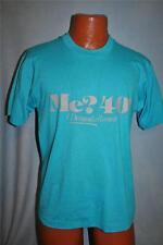 Vintage Me? 40? I Demanda A recount 40 CUMPLEAÑOS 50/50 Camiseta Grande Azul