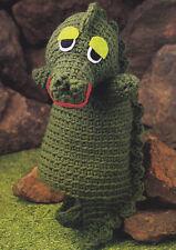 Crochet Pattern ~ DRAGON PUPPET Kids Toy ~ Instructions