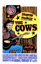 The Cows Poster Supernova Poster 1995 Concert by Frank Kozik S/N