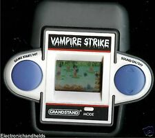 80s GRANDSTAND VAMPIRE STRIKE ELECTRONIC HANDHELD GAME VINTAGE ARCADE 1980s LCD