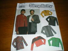 vintage simplicity 10-18 misses jacket,trim variations