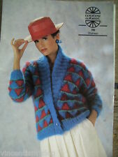 WATER WHEEL SHAHEEN * JACKET KNITTING PATTERN * 790 *