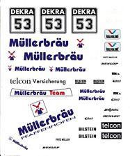#53 Frank Muller 1983 BMW 635 CSI 1/64th HO Scale Slot Car Decals