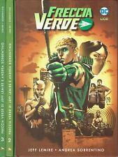 Freccia Verde 1/3 COMPLETA cartonati di Lemire NUOVI ed.LION FU30