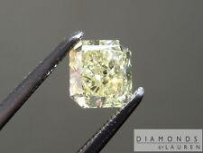 .63ct Fancy Yellow SI2 Radiant Cut Diamond GIA R7284 Diamonds by Lauren