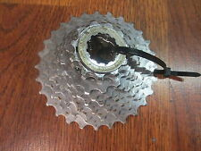 SHIMANO HYPER GLIDE HG 8 SPEED 11-28 CASSETTE WITH LOCK RING