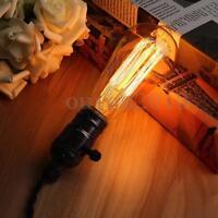 E27 60W Retro Vintage Industrial Style Filament Light Bulb Edison Lamp 110V/220V