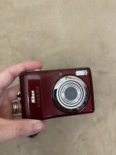 Nikon COOLPIX L24 14 MP Digital Camera 3.6x NIKKOR Optical Zoom Lens Red