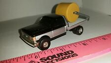 1/64 CUSTOM ERTL farm toy 89 ford f250 flatbed bale hauler pickup truck dually