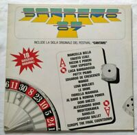 VARIOUS LP SANREMO '87 33 GIRI VINYL ITALY 1987 CBS 450528 VG+/NM