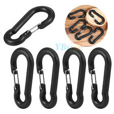 6.5CM Black Large 5pcs Gourd Shape Key Chain Clip Hook Buckle Hiking Carabiner