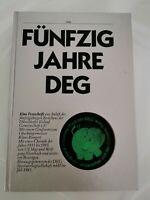 Fünfzig Jahre DEG / Buch mit Puck / Düsseldorf / Eishockey