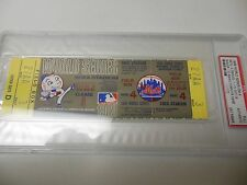 1969 WORLD SERIES GAME 4 FULL TICKET BALTIMORE ORIOLES VS MIRACLE NY METS RARE