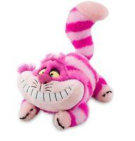 "Disney Authentic Patch Cheshire Cat Plush Stuffed Animal 20"" Alice in Wonderland"