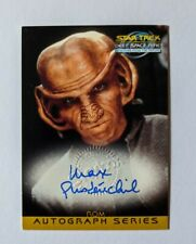 Star Trek DS9 Memories of the Future Autograph AUTO A17 Max Grodenchik as Rom