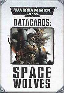 Games Workshop Datacards Space Wolves 2014 Edition TCG