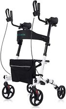 Upright Walker, Stand Up Folding Rollator Walker Back Erect Rolling Mobility