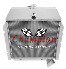 2 Row All Aluminum Performance Radiator For 1941 - 49 International K-Series