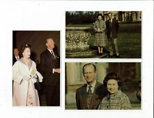 POST CARDS ROYALTY THREE CARDS FROM SOVEREIGN SERIES 2