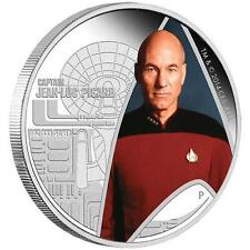 Star Trek:The Next Generation Captain Jean-Luc Picard 2015 1oz Silver Proof Coin