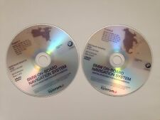 NEW 2015 BMW Navigation Map Updates 2 Disc DVD Set HIGH East & West