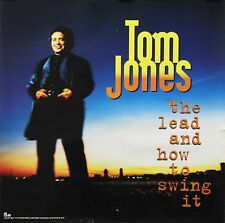 Tom Jones 1994 The Lead and How To Swing It Interscope Records Promo Poster