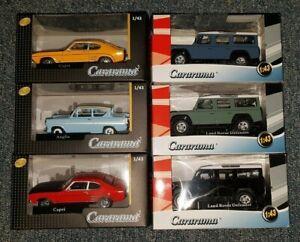 Cararama 1/43 Scale Cars - BRAND NEW - Multi Listing