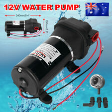 12V Water Pump 17LPM Self-Priming 40PSI Caravan Trailer Camping Boat esm