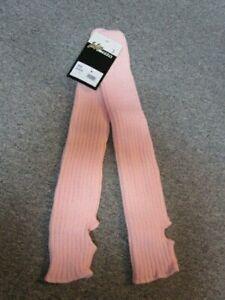 Stulpen Legwarmer Beinwärmer Intermezzo Länge 45 cm, rosa mit  Fersenloch