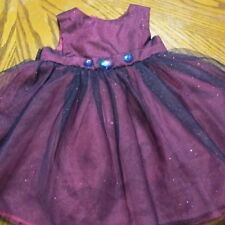Girl's Sweet Heart Rose Party Dress Size 6-9 months EUC Sparkles