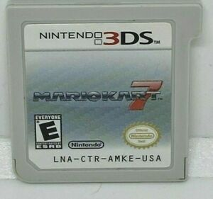 Mario Kart 7 (NINTENDO 3DS, 2011) GAME CARTRIDGE ONLY AUTHENTIC TESTED MARIOKART