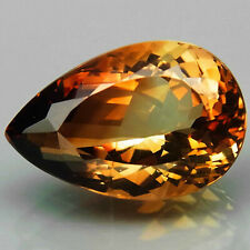 14.4 Ct. Natural Top Imperial Topaz Brazil Pear Shape Facet Unheated