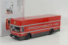 Porsche Mercedes-Benz Renntransporter LKW Truck Renndienst O317 1:43 Premium