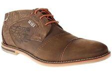 Herren-Schnürschuhe ohne Muster in Größe 44