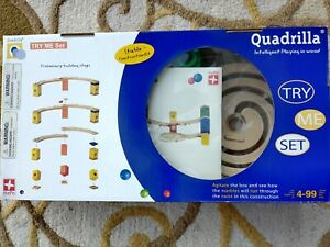 Hape Quadrilla Marble Run Set - complete!
