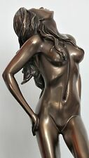 akt,figur,frau,25x9cm,aktfigur,skulptur,deko,bronziert,frauenakt,erotik,woman