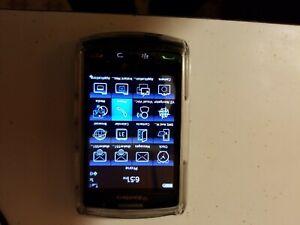 BlackBerry Storm 9530 - 1GB - Black (Verizon) Smartphone with case original box