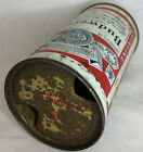 Budweiser Lager Beer 12 Ounce (EMPTY) Flat Top Beer Can