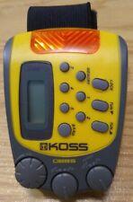 KOSS PP257 Water-Resistant Sports Armband Digital AM/FM Radio DBBS