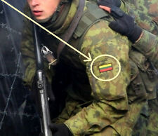 JSOC Training of Afghanistan's Special Police Forces in Kandahar: LITHUANIA FLAG
