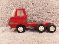 """Vintage 1970's Red Tonka Toys Dump Truck Pressed Steel 5"""" Inch Long Circa"""