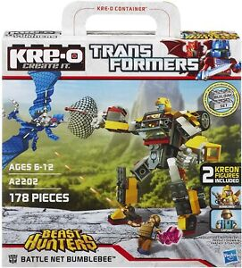 Battle Net Bumblebee Set   KRE-O Transformers Beast Hunters Hasbro