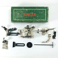 Vintage Singer Sewing Machine Attachments 160623 Original Box For Machine 301