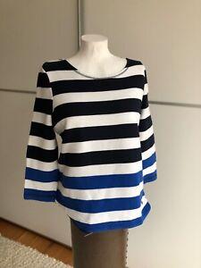 CECIL Maritimer Streifenpulli /  Shirt  Frühjahrspulli  Gr.S Shine