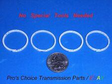 GM 4L60E 4L65E 4L70E--NO SIZING TOOLS NEEDED--Input Drum / Shaft Teflon Ring Kit