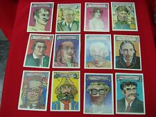 12 DIFF. 1967 TOPPS WHO AM I ? TRADING CARDS L. JOHNSON, A. LINCOLN AMONG OTHERS