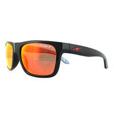 Arnette Sunglasses 4176 Dropout 22771J Black Dark Green Mirror Blue